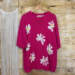 Vintage Field Gear Flower Power Sweater